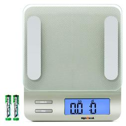 Accuweight 207 Digital Kitchen Multifunction Food Scale for