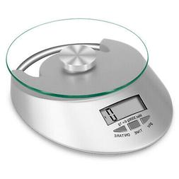 compact stainless steel kitchen scale