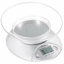 Etekcity Digital Kitchen Food Scale and Multifunction Weight