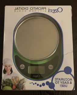 Ozeri Digital Kitchen Food Scale Net Weight Ounces Grams lbs