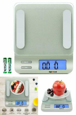 Digital Kitchen Multifunction Food Scale for Cooking with Ba