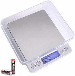 Fuzion Digital Kitchen Scale 3000g/ 0.1g Pocket Food Scale 6