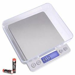Fuzion Digital Kitchen Scale 3000g/ 0.1g, Pocket Food Scale