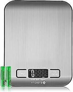 Digital Kitchen Scale Scales Weight Grams Oz Baking Cooking