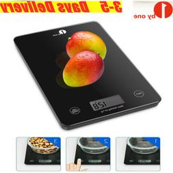 1byone Electronic Digital Food Weighing Scales Kitchen Glass