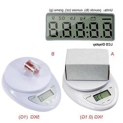 Electronic Digital Scales Portable Food Measuring Kitchen Co