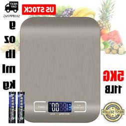 Electronic Food Weighing Scale Digital Measuring Gram Accura