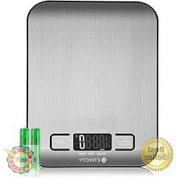 Etekcity Food Digital Kitchen Scale Weight Grams and Oz for