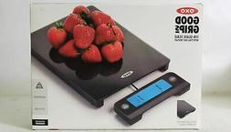OXO 11176800 Good Grips Digital Glass Food Scale with Pull O