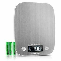 Etekcity Kitchen Food Scale Digital Weight Grams and Oz, LED