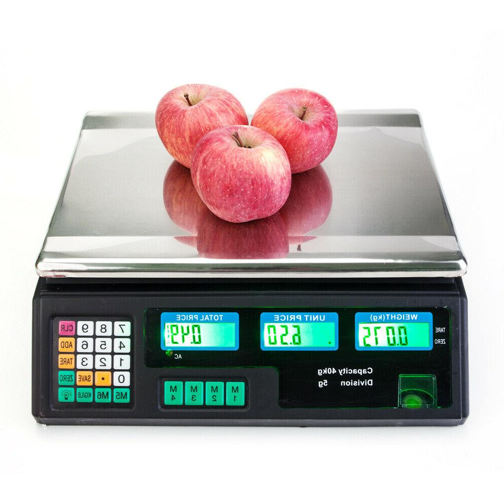 40kg 5g electronic kitchen scale digital lcd