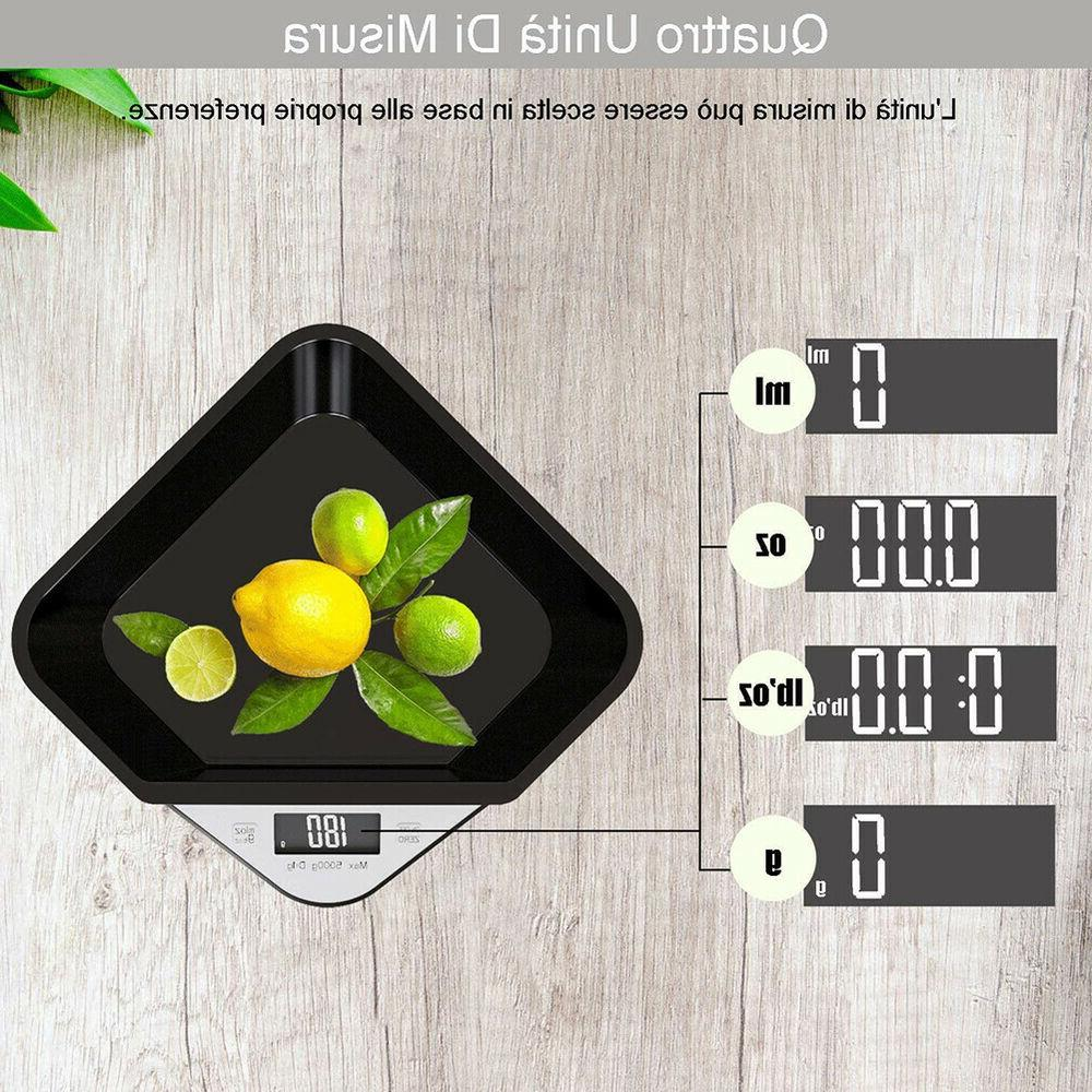 5kg Precision Electronic Bowl Food Weighing Scale