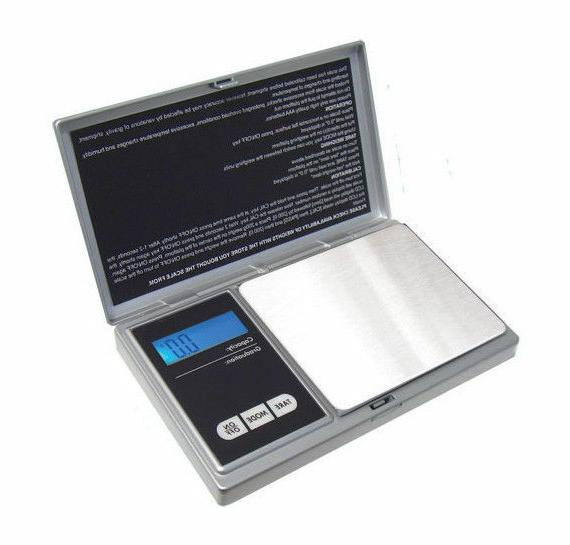 american weight scales aws1kgsil silver digital pocket