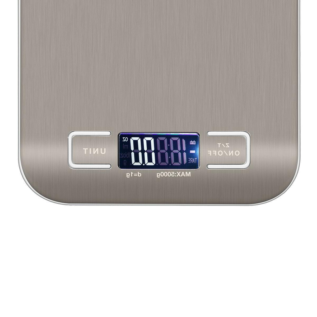 Digital Electronic Food Diet Scale Balance 22lb