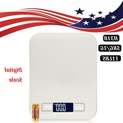 digital electronic kitchen scale weight food diet