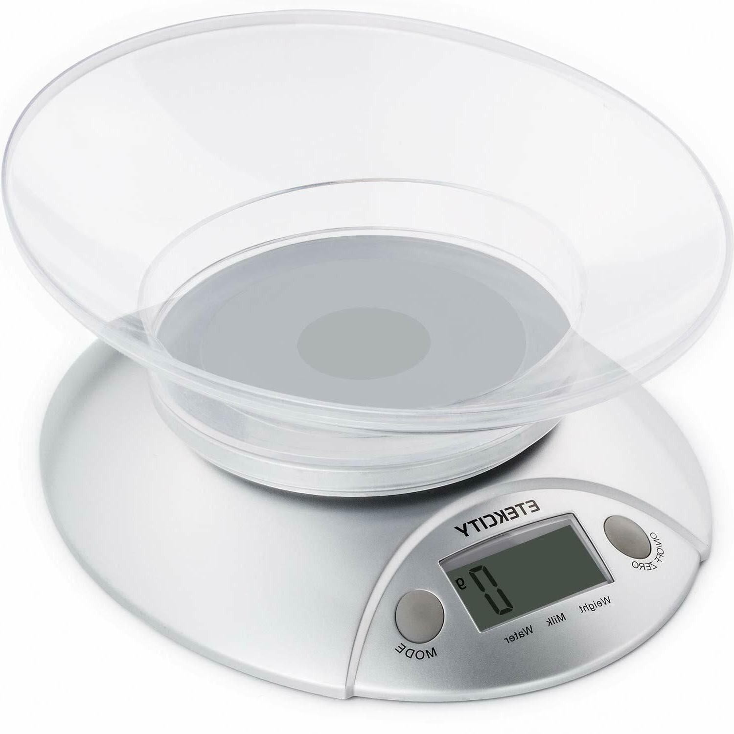 digital food kitchen weight scale with removable