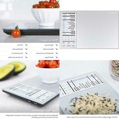 digital kitchen food scale nourish and portions