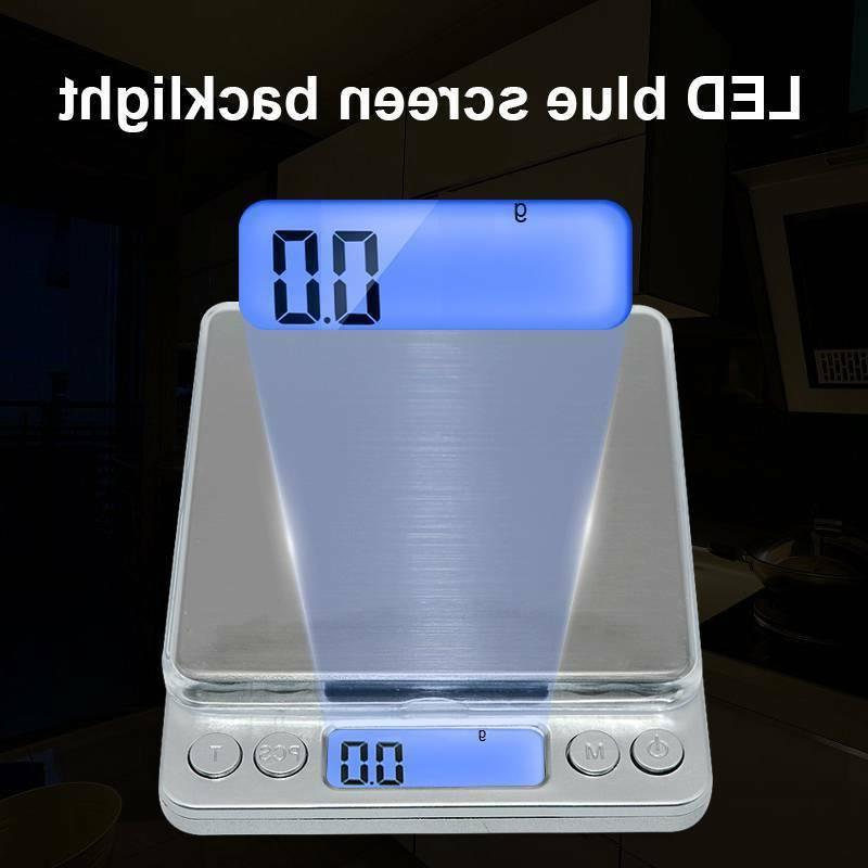 digital lcd electronic scale kitchen food weight