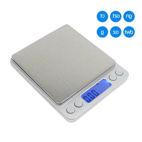 Digital Scale 0.1g Jewelry Gold Silver Coin Gram Herb