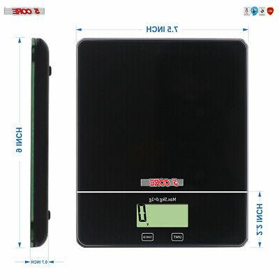 5 Core Touch Screen Postal SCALE 5kg 11Lbs Food
