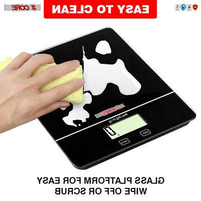 5 Core Touch Screen KITCHEN Postal SCALE 5kg 11Lbs Food