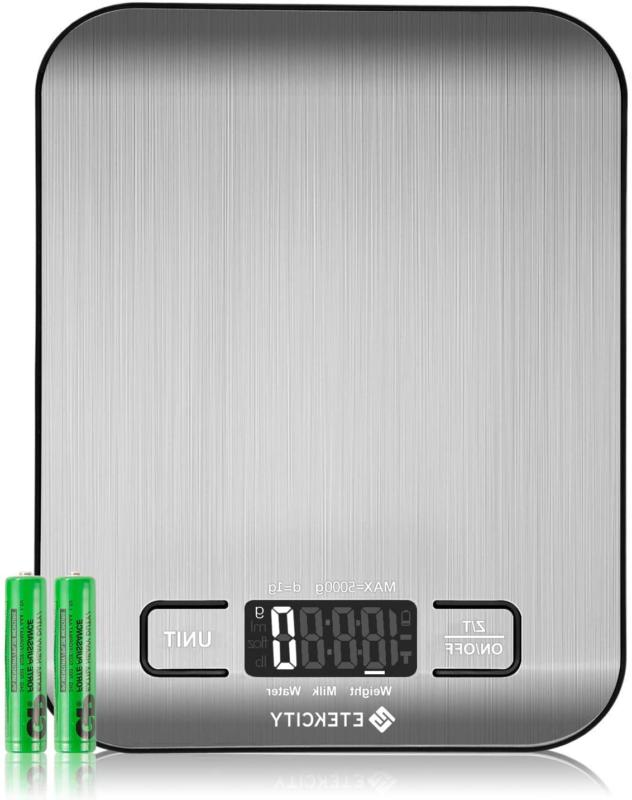 food scale digital kitchen weight grams
