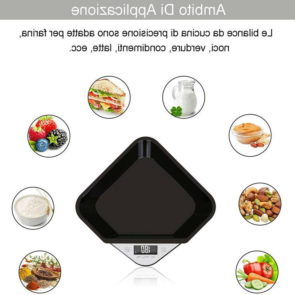 5kg Kitchen Precision Electronic Bowl Weighing Scale Useful