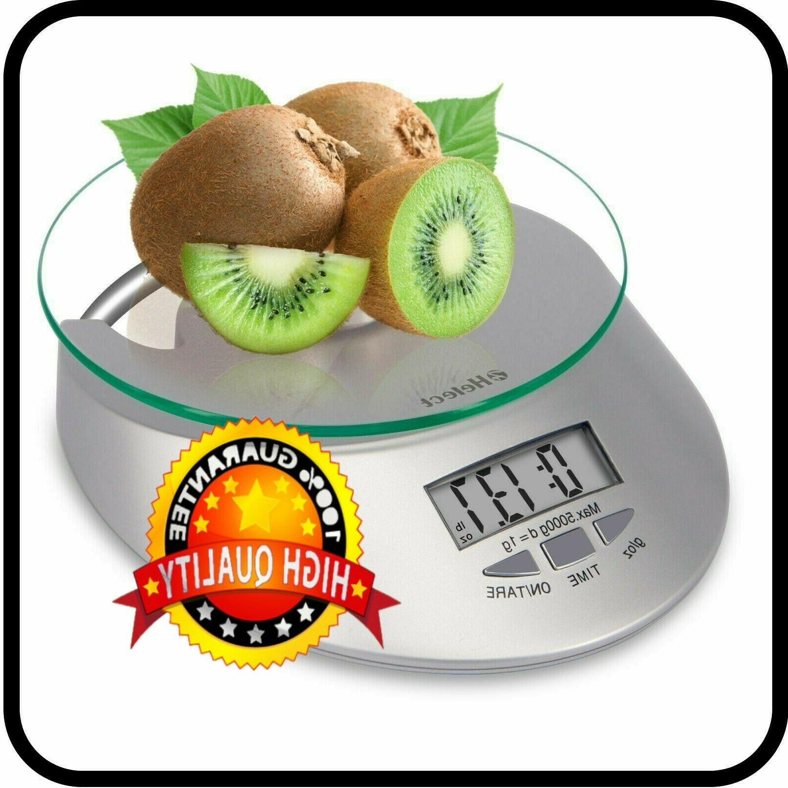 kitchen scale 11lb 5kg multifunction food scale