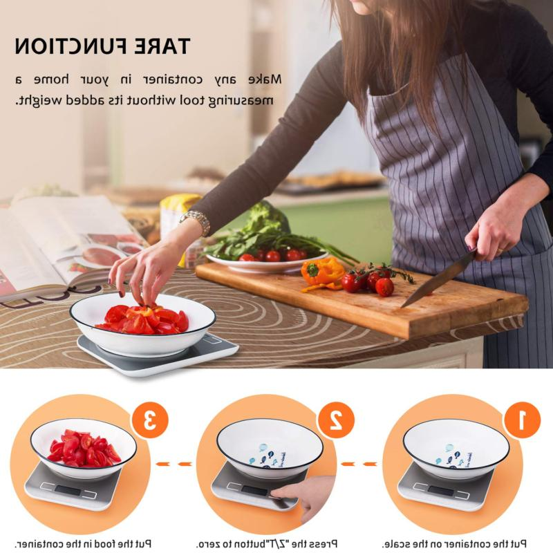 Kitchen Digital Scale, Accuracy Scale LCD