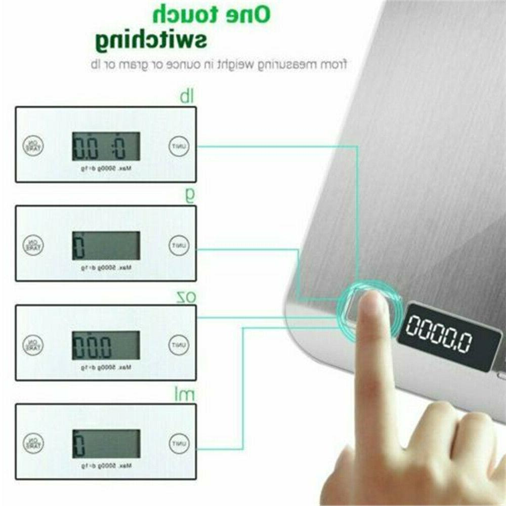Kitchen Weight Steel Scale 11LB 5KG USA