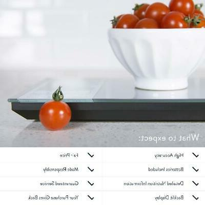 Greater Nourish Digital Kitchen Food Portions Nutritional Facts