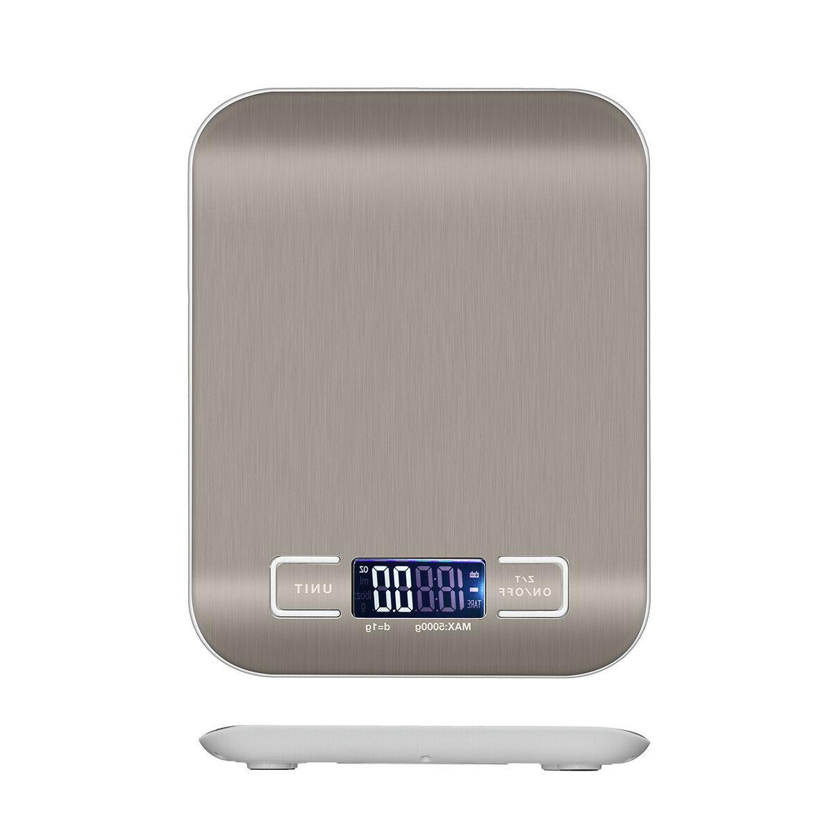 Digital Electronic Food Diet Scale Balance / 22lb