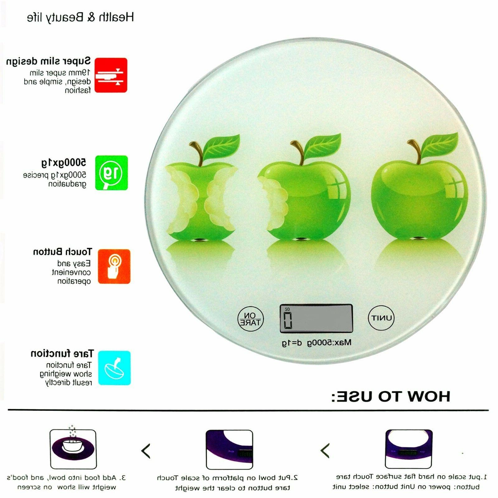 Round Glass Apples ideal Measuring