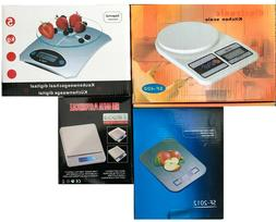 New - Digital LCD Kitchen Scales with Batteries - Various Pr