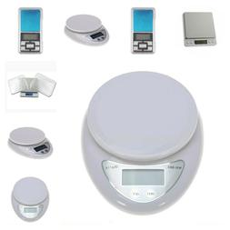 Portable Weighing Scale Digital Food Cooking Guide Measure T
