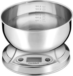 Cuisinart PrecisionChef Digital Kitchen Food Scale Stainless