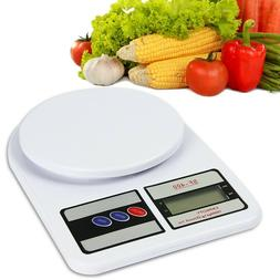 SF-400 10KG / 1g Kitchen Scale Diet Measuring LCD Display Di