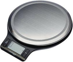 stainless steel digital kitchen scale with lcd