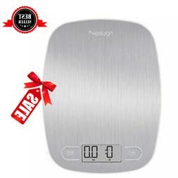 Stainless Steel Large Display Digital Kitchen Scale Food Ult