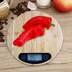 Wooden Digital Weighing Scales Kitchen Electronic Digital Fo